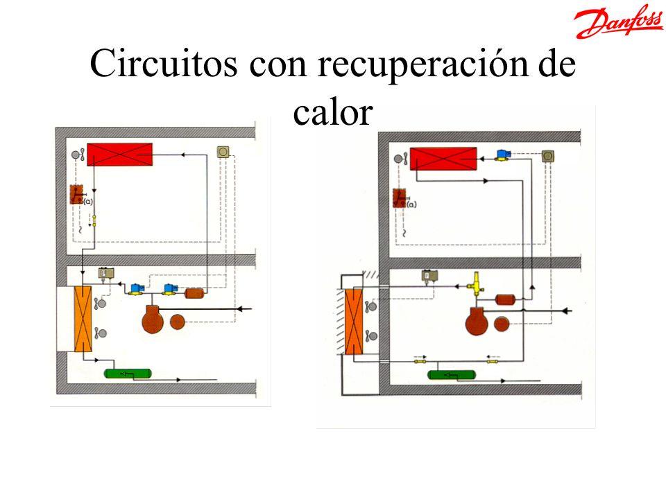 Circuitos con recuperación de calor