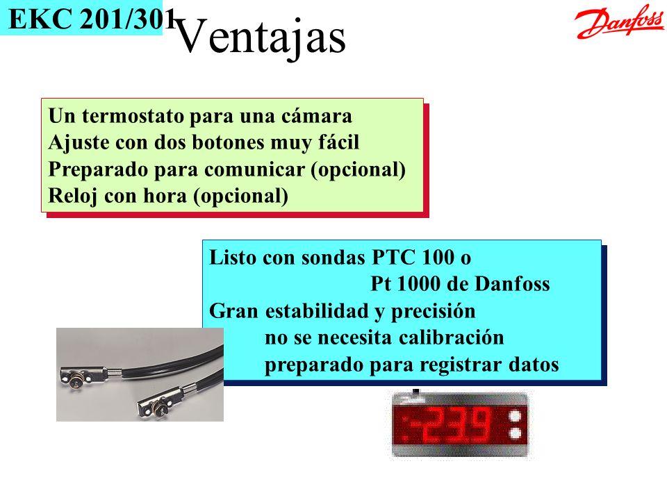 Un termostato para una cámara Ajuste con dos botones muy fácil Preparado para comunicar (opcional) Reloj con hora (opcional) Un termostato para una cá