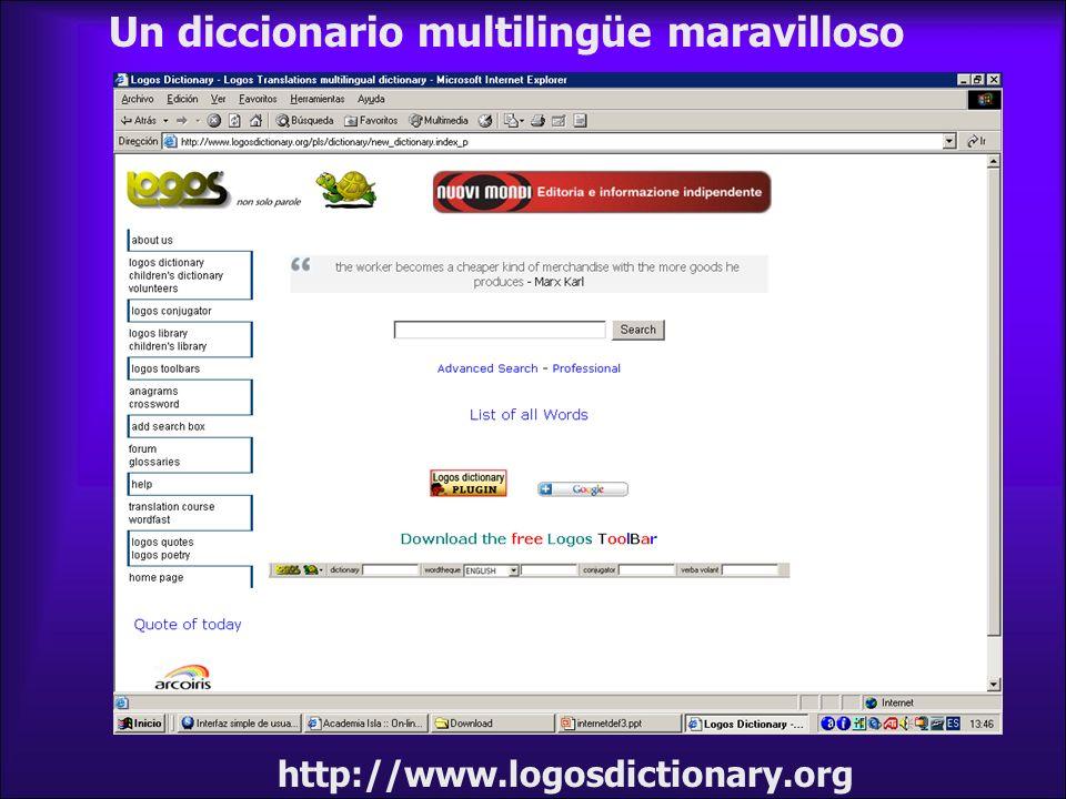 Un diccionario multilingüe maravilloso http://www.logosdictionary.org
