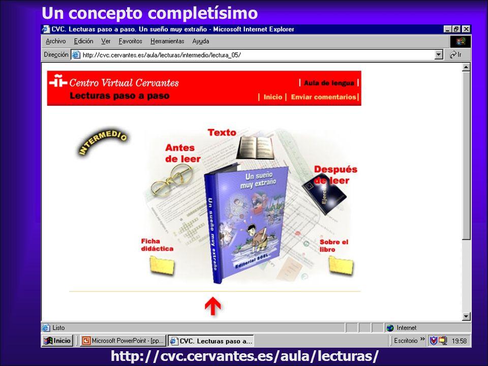 http://cvc.cervantes.es/aula/lecturas/ Un concepto completísimo