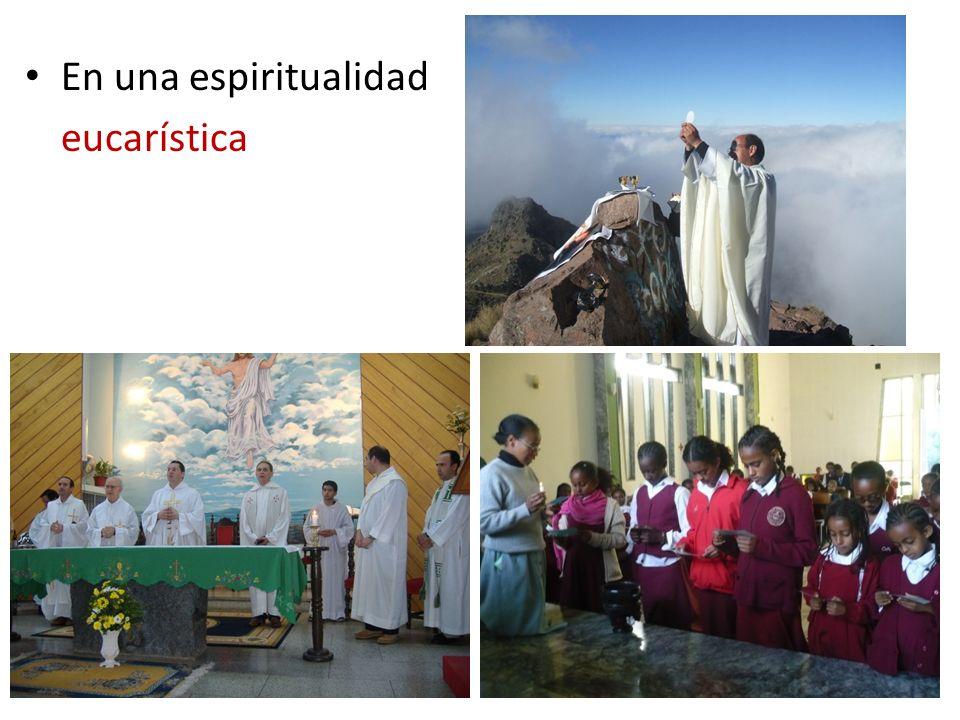 En una espiritualidad eucarística