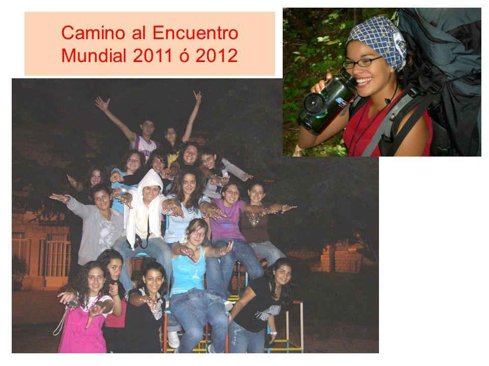 Camino al Encuentro Mundial 2011 ó 2012