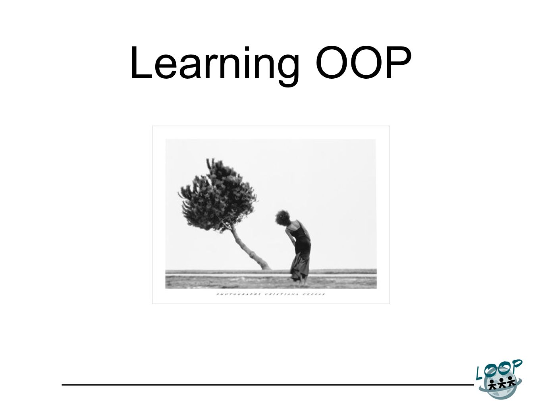 Learning OOP