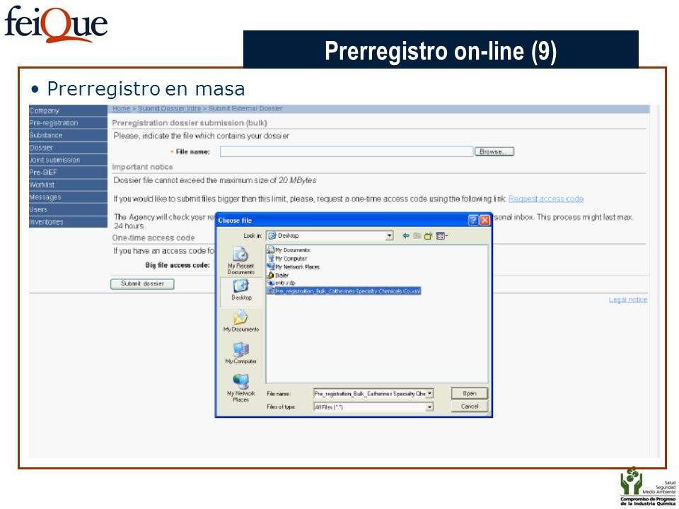 CHAPTER 3 Prerregistro en masa Prerregistro on-line (9)