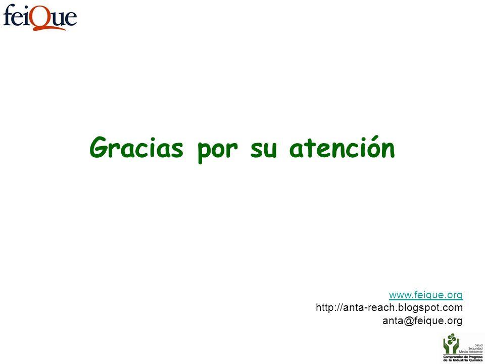 www.feique.org http://anta-reach.blogspot.com anta@feique.org Gracias por su atención