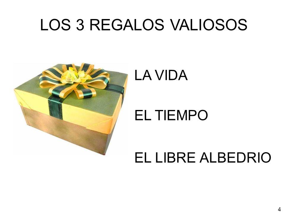 4 LA VIDA LOS 3 REGALOS VALIOSOS EL TIEMPO EL LIBRE ALBEDRIO