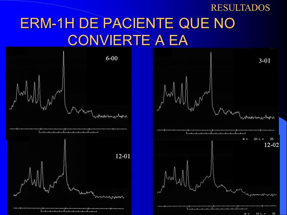 ERM-1H DE PACIENTE QUE NO CONVIERTE A EA 01-01 12-01 12-02RESULTADOS 6-00 3-01