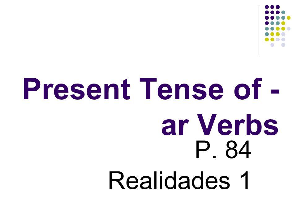 Subject Pronouns Alejandro y yo = nosotros Carlos y ella = ellos Pepe y tú = ustedes Lola y ella = ellas