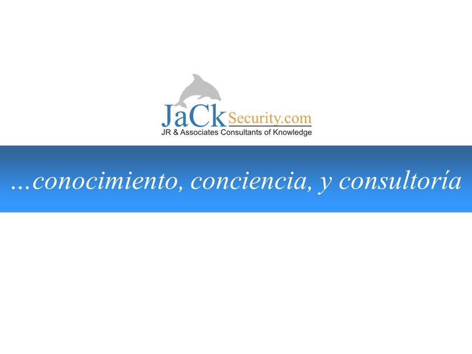 …conocimiento,conciencia,y consultoría