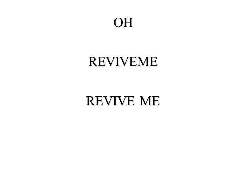 OHREVIVEME REVIVE ME