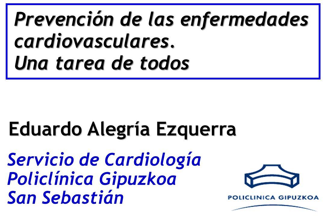 Prevención de las enfermedades cardiovasculares.