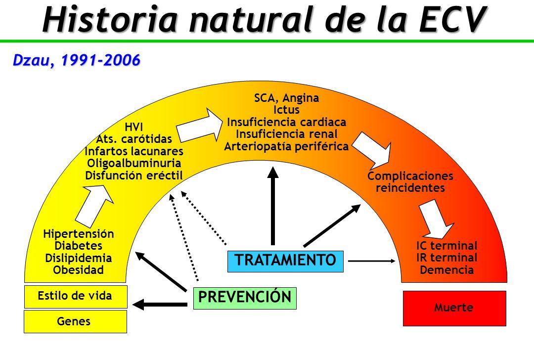 Hipertensión Diabetes Dislipidemia Obesidad HVI Ats.