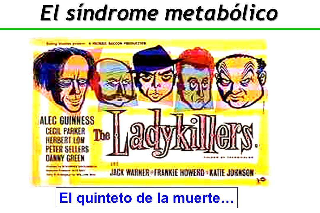El quinteto de la muerte… El síndrome metabólico