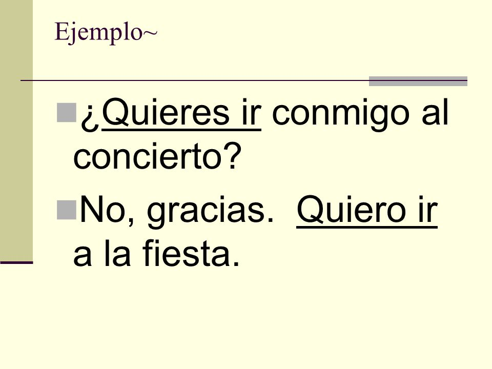 Would like = Gustaría (a mí) Me (a nosotros/as) Nos (a tí) Te (…) ( a él) Le (a ella) Le (a Ud.) Le (a ellos/as) Les (a Uds) Les