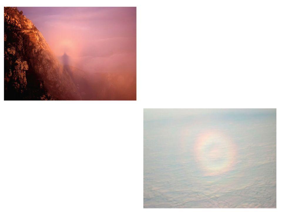 En China, este fenómeno es llamado la Luz de Buda ( ).