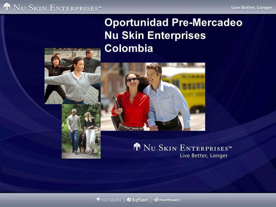 Oportunidad Pre-Mercadeo Nu Skin Enterprises Colombia