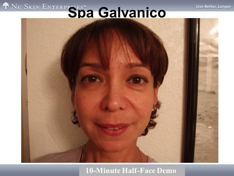 Spa Galvanico 10-Minute Half-Face Demo