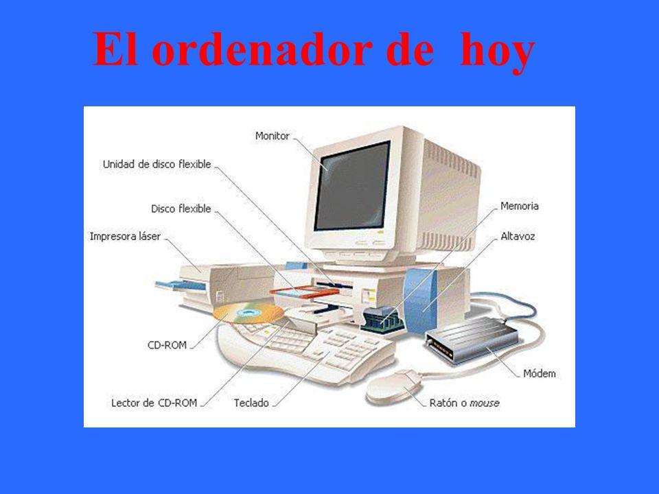 El ordenador de hoy