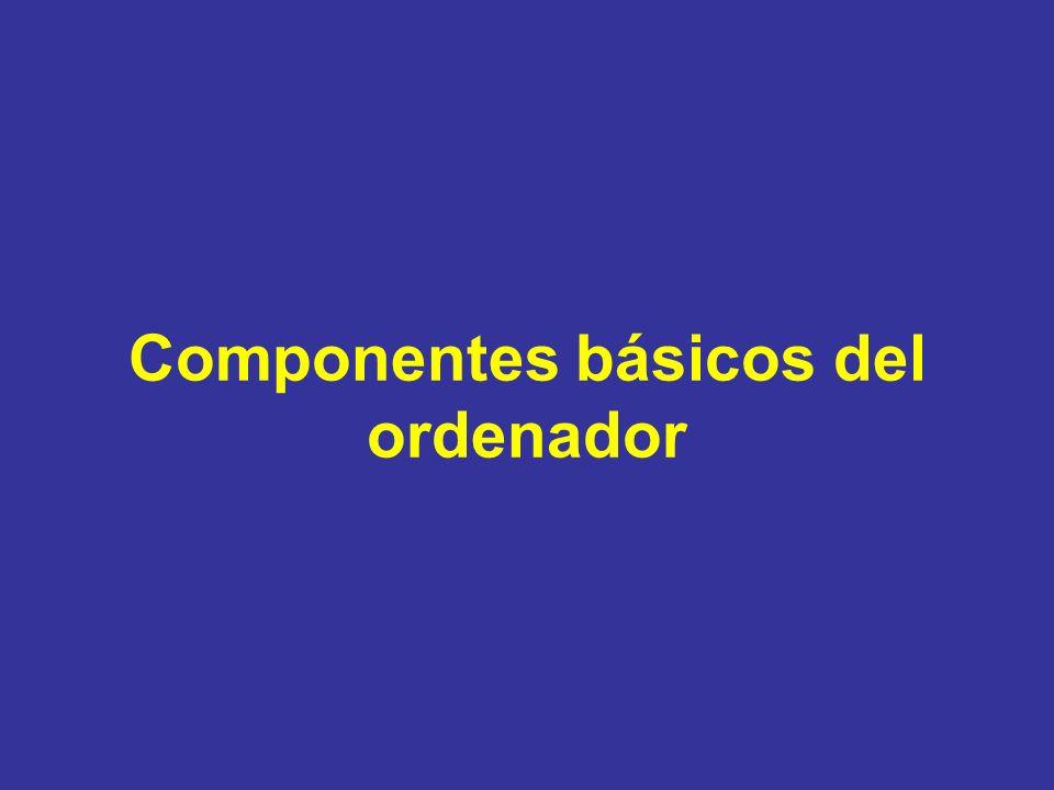 La BIOS Basic Input/Output System(sistema básico de entrada/salida).