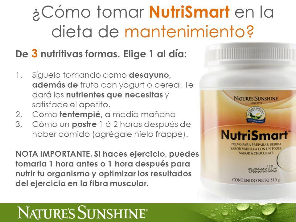 De 3 nutritivas formas. Elige 1 al día: 1.Síguelo tomando como desayuno, además de fruta con yogurt o cereal. Te dará los nutrientes que necesitas y s