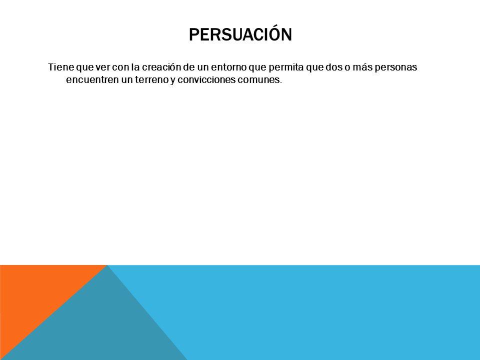 TÁCTICAS DE PERSUASIÓN RÁPIDA Coincidencia social.