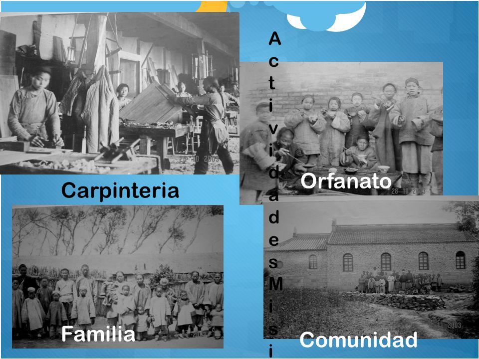 Carpinteria Familia Orfanato Comunidad ActividadesMisionerasActividadesMisioneras