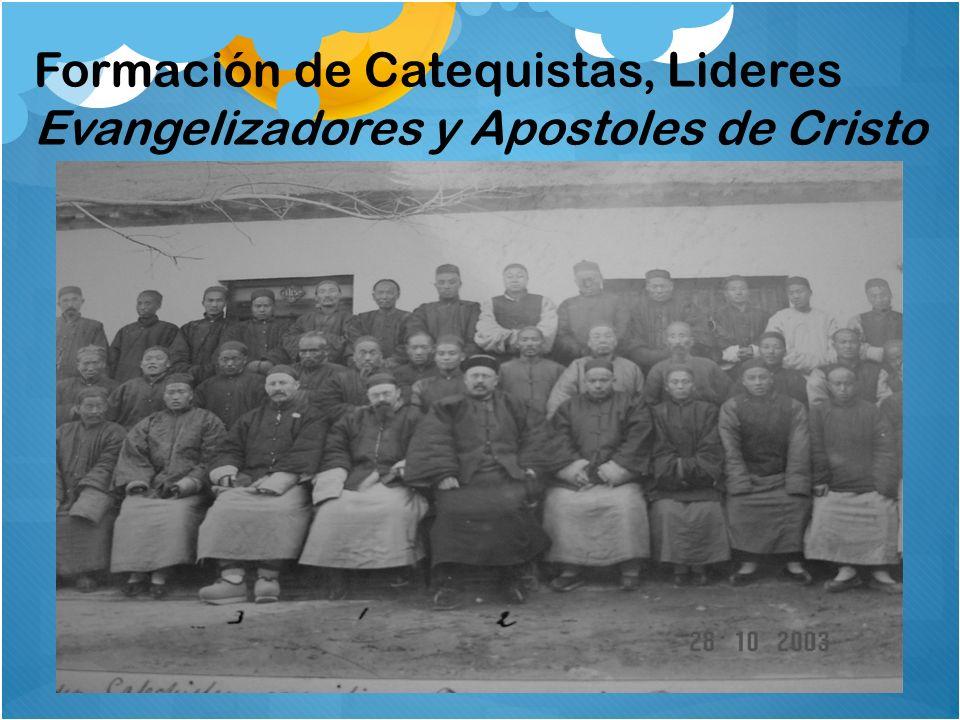 Formación de Catequistas, Lideres Evangelizadores y Apostoles de Cristo