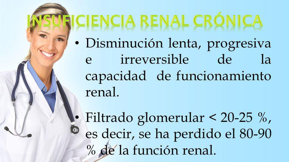 La uremia es el sd clínico y de laboratorio que refleja la disfunción de todos los sistemas orgánicos como consecuencia de la IRA o IRC no tratada.