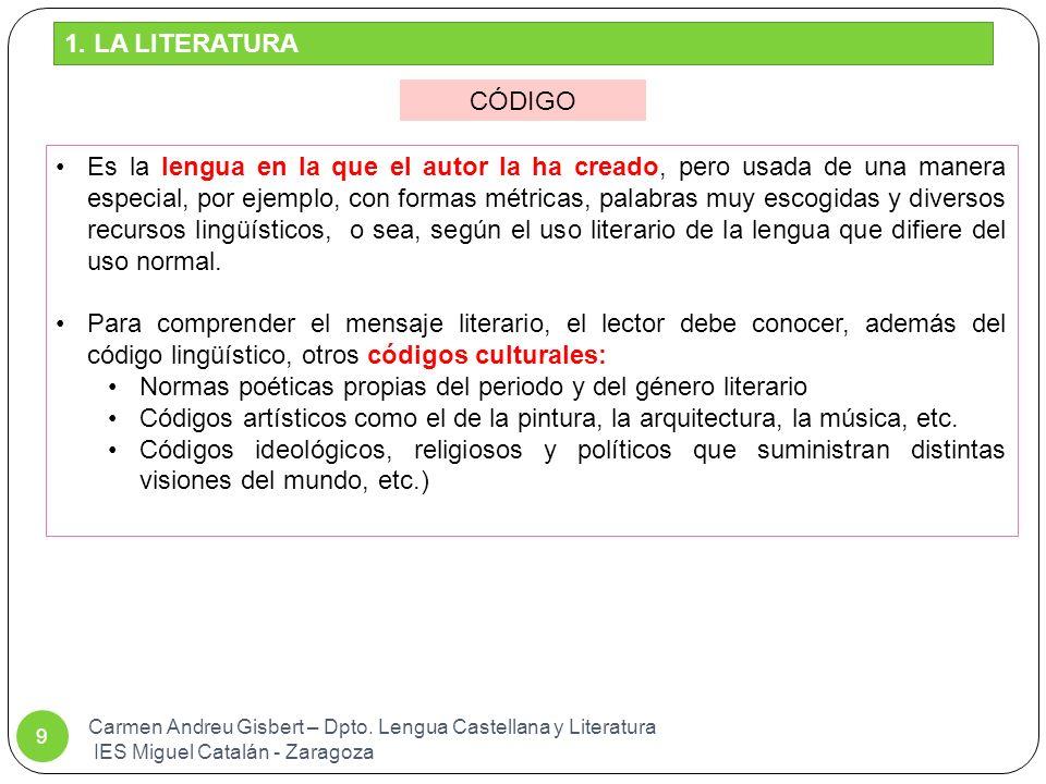 Carmen Andreu Gisbert – Dpto. Lengua Castellana y Literatura IES Miguel Catalán - Zaragoza 80 SÍMIL