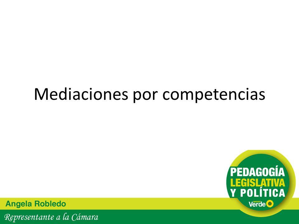 Mediaciones por competencias