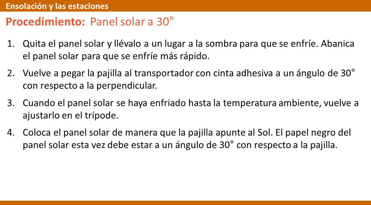 1.Quita el panel solar y llévalo a un lugar a la sombra para que se enfríe. Abanica el panel solar para que se enfríe más rápido. 2.Vuelve a pegar la