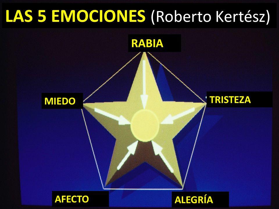 RABIA MIEDO AFECTO LAS 5 EMOCIONES (Roberto Kertész) ALEGRÍA TRISTEZA