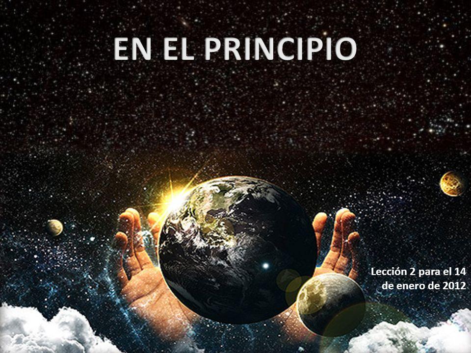 Lección 2 para el 14 de enero de 2012