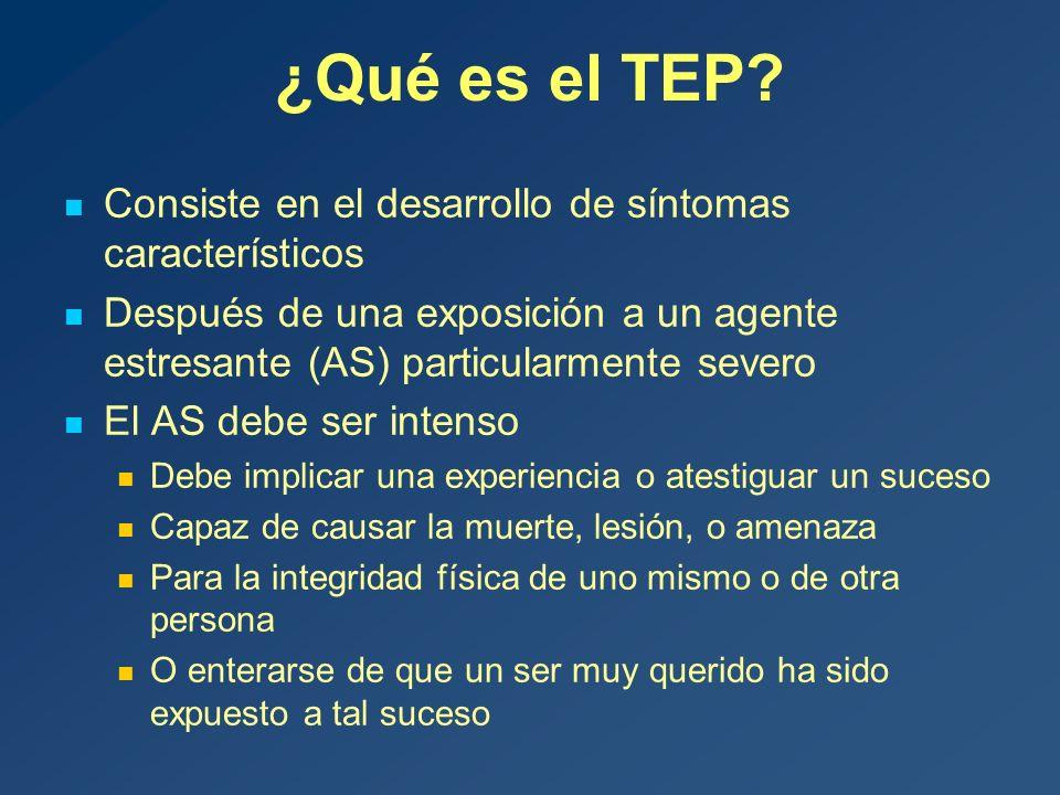 ¿Qué es el TEP.
