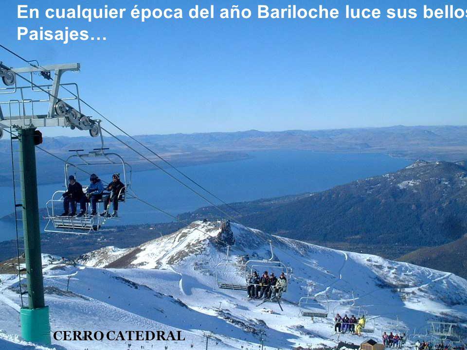 Pintoresca imagen de Bariloche
