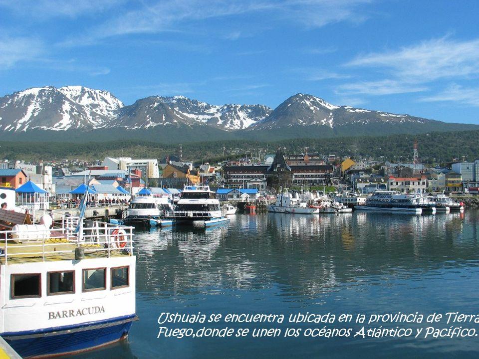 Ushuaia,la ciudad más austral del mundo…