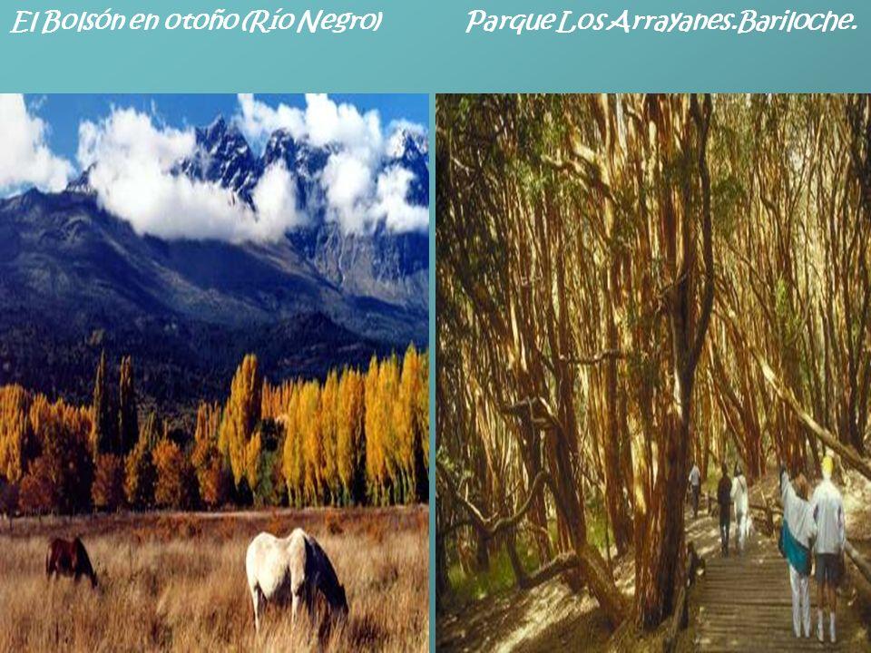 Sur argentino y sus bellezas naturales