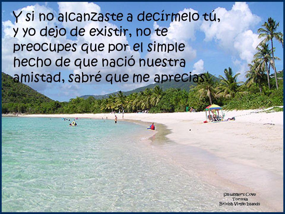 Trunk Bay Beach St. John U.S. Virgin Islands n).. Te ayuda a levantar ñ).. Calma tus temores