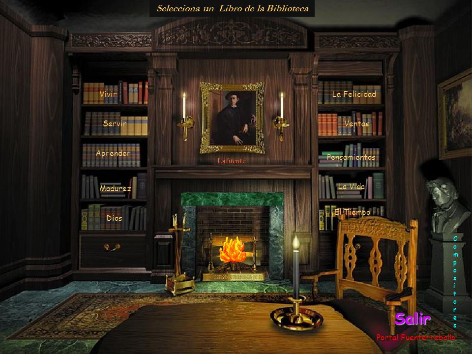 Biblioteca Ella era la visión incompleta de todo lo que se había perdido.