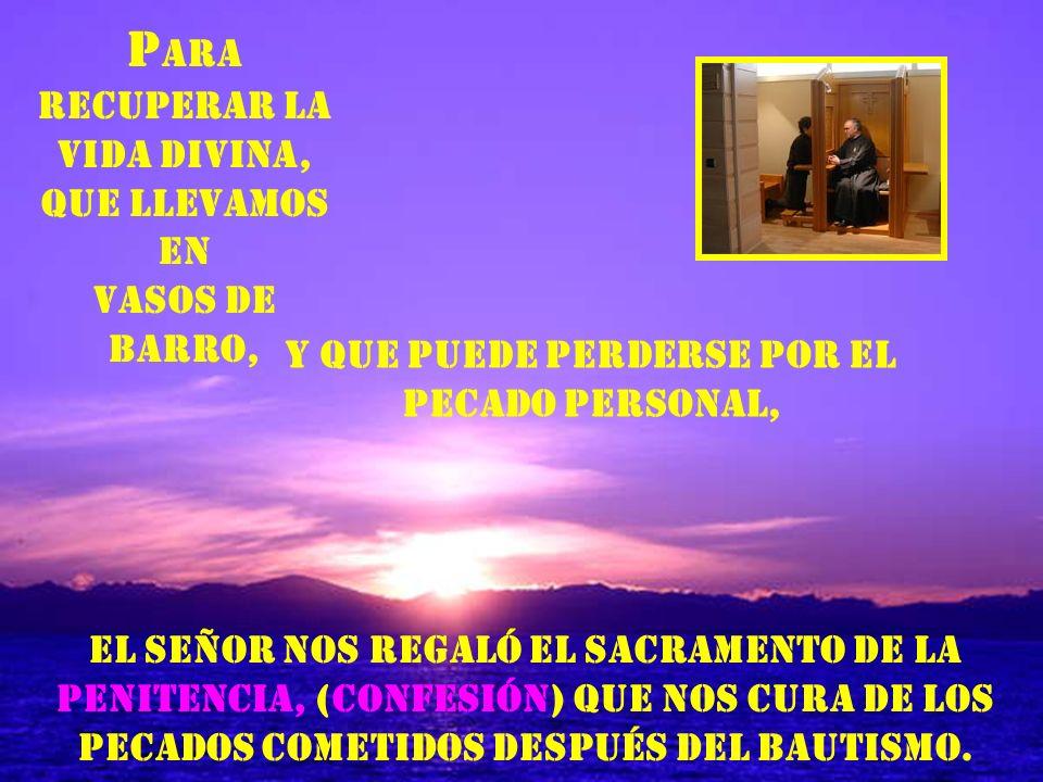 FORMAS DE LA CONFESIÓN SEGÚN EL RITUAL Confesión individual.