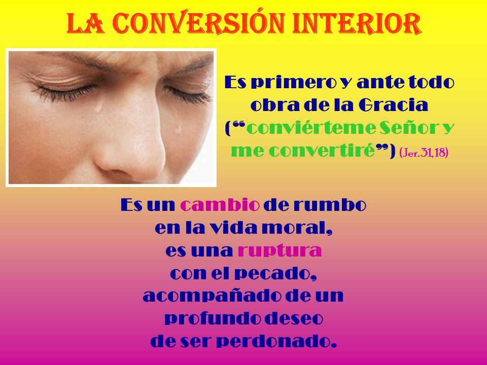 San Ambrosio dice que en la Iglesia existe una doble conversión: 1ª la del Agua del Bautismo. 2º la de las Lágrimas de la Penitencia.