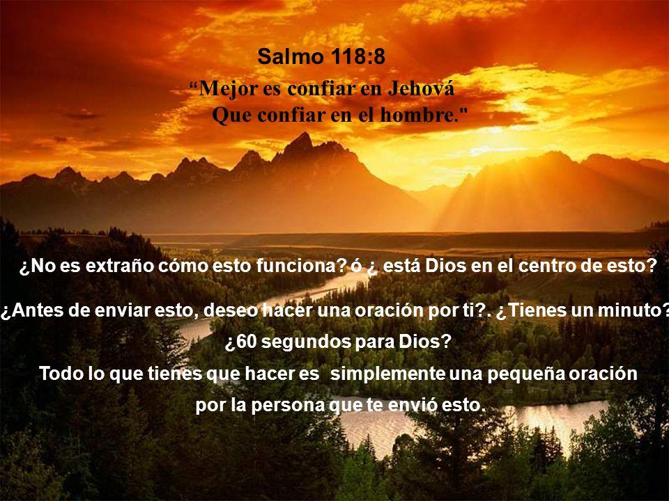 Dice este versículo algo verdaderamente significativo acerca de la voluntad de Dios en nuestras vidas. La próxima vez que alguien diga que le gustaría