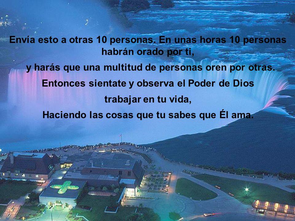 Padre nuestro bendice a mi amigo/a en lo que sea que tu sabes que el/ella están necesitando hoy! Y que pueda su vida estar llena de Paz, Prósperidad y