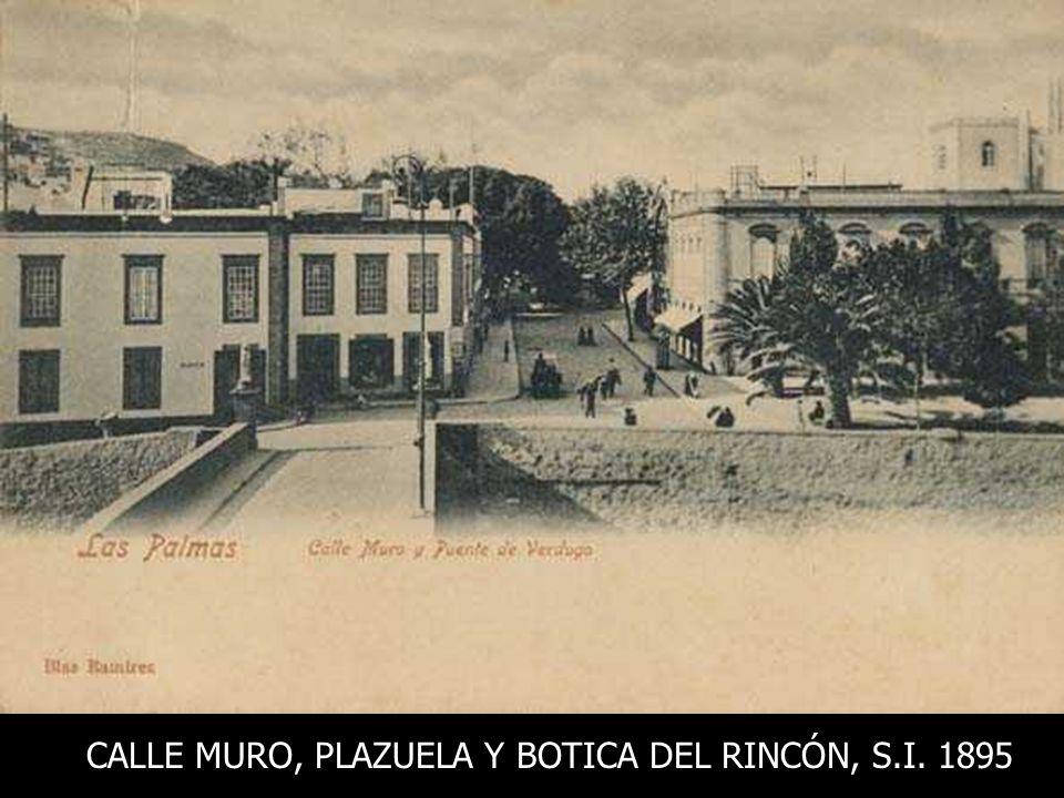 LA PLAZUELA, BARANCO Y RISCO DESDE EL MONOPOL Sin identificar, 1895-1900