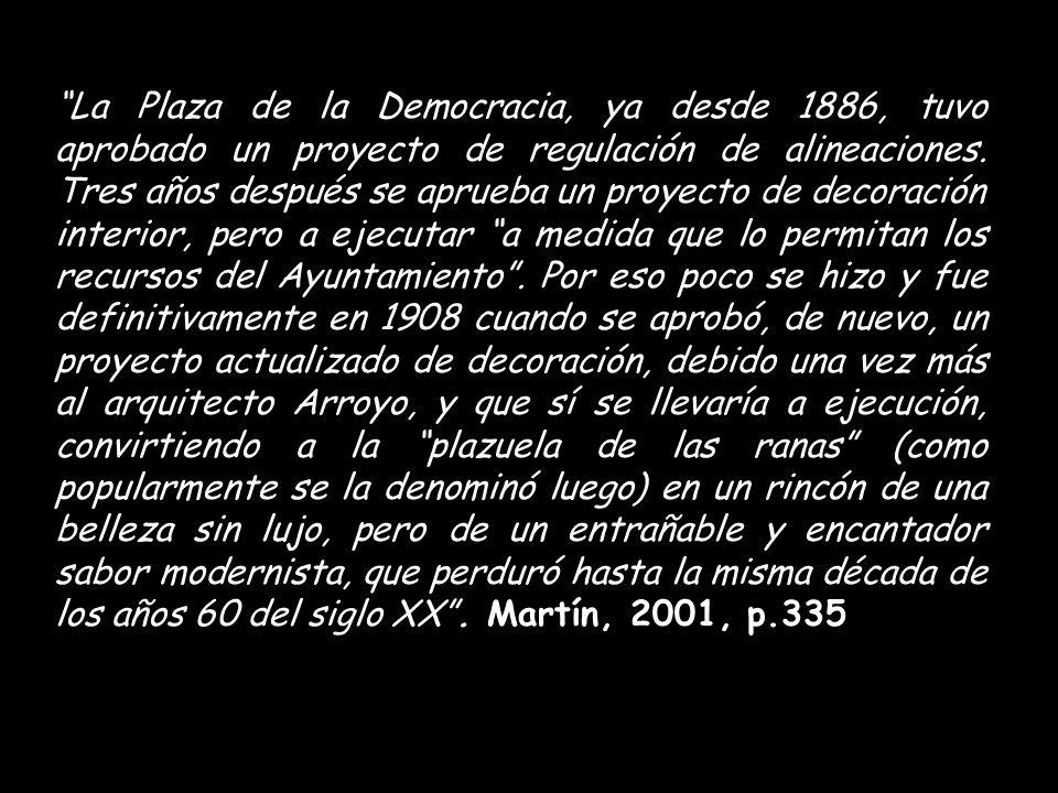 CALLE MURO, PLAZUELA Y BOTICA DEL RINCÓN, S.I. 1895