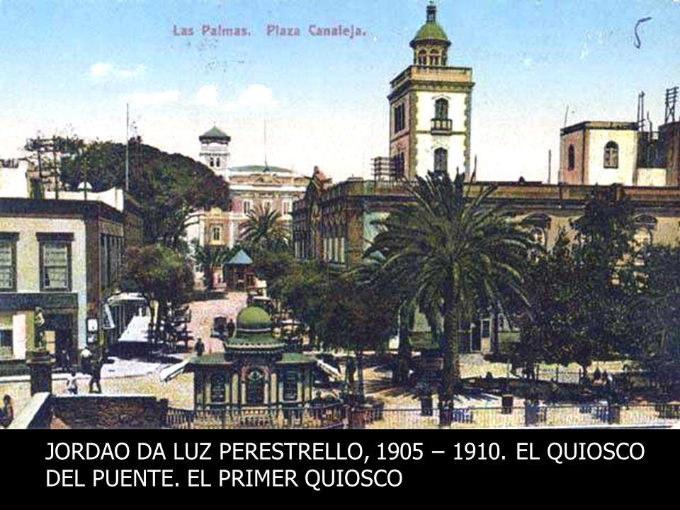 LOS GENUINOS QUIOSCOS DE LA PLAZUELA COMIENZAN A CONSTRIRSE A PRINCIPIOS DEL SIGLO XX, PAULATINAMENTE El diseño originario de los Quioscos se debió al