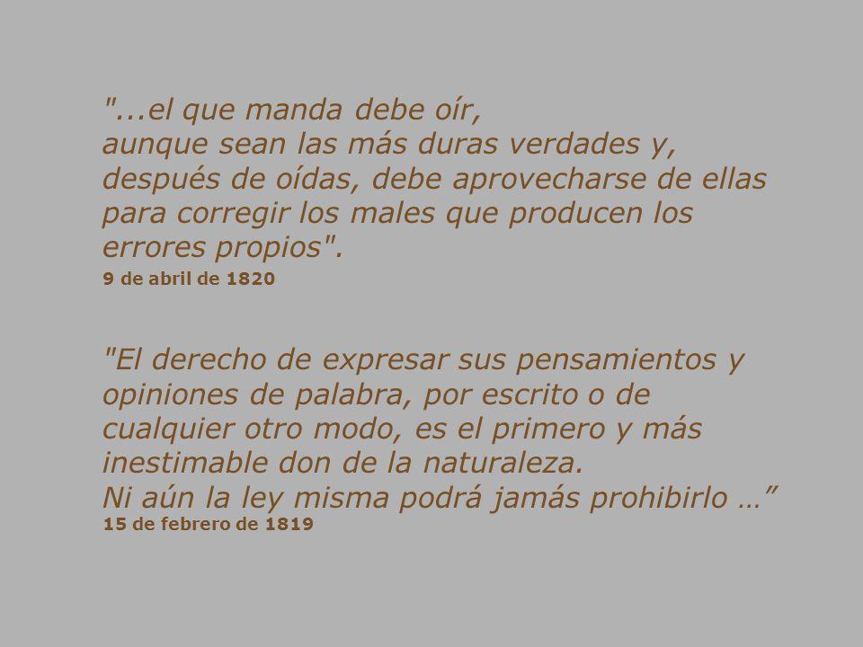 Excelentísimo Señor Presidente Hugo Rafael Chávez Frías Su Despacho.- Por favor, ponga ojo pelao a mis verdaderas enseñanzas; no mal interprete la historia y deje de mal citarme…