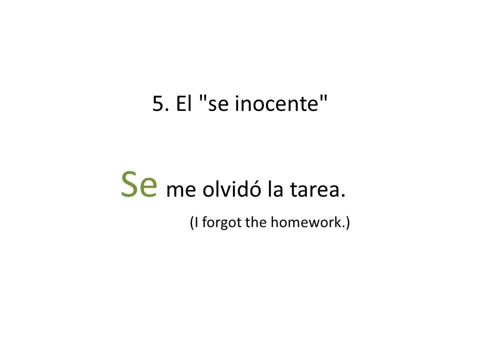 5. El