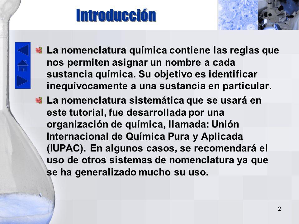 1 Nomenclatura Química Lic. Raúl Hernández M. Facultad de Ciencias Médicas Lic. Raúl Hernández M. Facultad de Ciencias Médicas