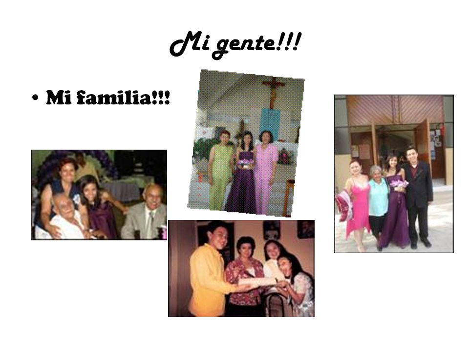 Mi gente!!! Mi familia!!! >>
